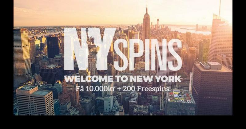 Nyspins casino banner